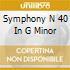 SYMPHONY N 40 IN G MINOR