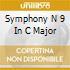 SYMPHONY N 9 IN C MAJOR