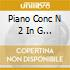 PIANO CONC N 2 IN G MINOR