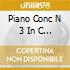 PIANO CONC N 3 IN C MAJOR