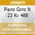 PIANO CONC N 23 KV 488