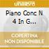 PIANO CONC N 4 IN G OP 58