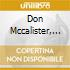 Don Mccalister, Jr. - Down In Texas