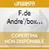 F.DE ANDRE'/BOX 16 CD
