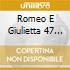 ROMEO E GIULIETTA 47 1.2 NEW YORK - SCHO