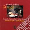 Grazioli Giovan Battista - Sonate Op.3 Per Cembalo E Violino Obbligato