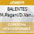 BALENTES (M.Pagani/D.Van De Sfroos)