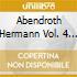 Abendroth Hermann Vol. 4  - Abendroth Hermann Dir  /orchestra Sinfonica Della Radio Di Lipsia, Registrazione 1949