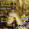 Martucci Giuseppe - Opere Per Pianoforte