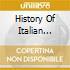 HISTORY OF ITALIAN PROGRESSIVE
