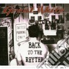 CD - GREAT WHITE - BACK TO THE RHYTHM