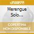 Merengue Solo Merengue - Vol. 2