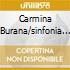 CARMINA BURANA/SINFONIA N.5