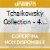 TCHAIKOWSKY COLLECTION - 4 CD BOX