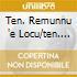 TEN. REMUNNU 'E LOCU/TEN. PRO LOCO