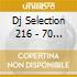 DJ SELECTION 216 - 70 MI DA TANTO 3RD PARTY