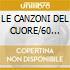 LE CANZONI DEL CUORE/60 (4CDx1)