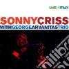 Sonny Criss & George Arvanitas Trio - Live In Italy
