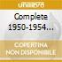 COMPLETE 1950-1954 RECORD
