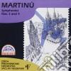 Martinu Bohuslav - Sinfonia N.3, N.4  - Neumann Vaclav Dir  /czech Philharmonic Orchestra