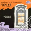 Gustav Mahler - Sinfonia N.2 resurrezione- Neumann Vaclav Dir/gabriela Benakova Sop, Eva Randova Con, Czech Philharmonic Orchestra & Chorus