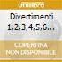 DIVERTIMENTI 1,2,3,4,5,6 90 (COMPLETI) -