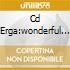 CD ERGA:WONDERFUL WORLD