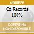 CD RECORDS 100%