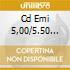 CD EMI 5,00/5.50 EURO