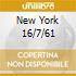 NEW YORK 16/7/61