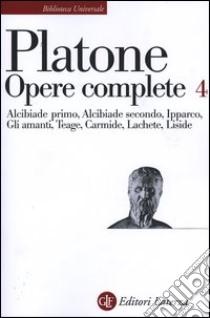 Opere complete (4) libro di Platone