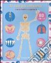 Il Corpo umano. Adesivi trasparenti