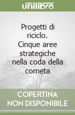 Progetti di riciclo. Cinque aree strategiche nella coda della cometa libro di Capanna Alessandra - Nencini Dina