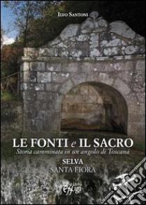 Le fonti e il sacro. Storia camminata in un angolo di Toscana: Selva, Santa Fiora libro di Santoni Ilvo