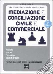 Mediazione e conciliazione civile e commerciale libro di Nicosia Paolo S. - Susanna Marco V. - Ceccacci Gianfranco